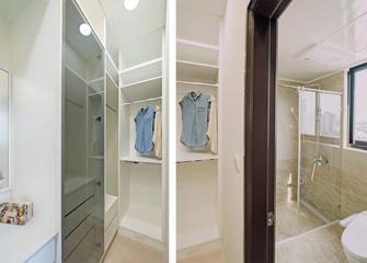 10-15万90平米四室两厅北欧风格衣帽间图片