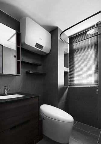 富裕型60平米一室一厅现代简约风格卫生间欣赏图