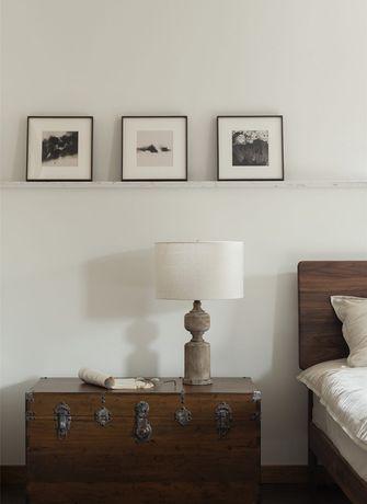 富裕型100平米三室一厅中式风格卧室装修图片大全
