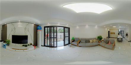 60平米现代简约风格客厅设计图
