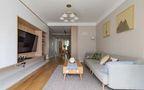 90平米三室一厅日式风格客厅欣赏图