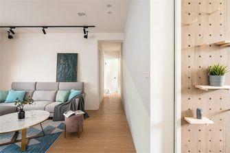 经济型80平米三室两厅北欧风格走廊效果图
