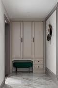 豪华型120平米三室两厅法式风格玄关效果图