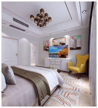 经济型140平米别墅混搭风格卧室图