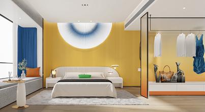 富裕型140平米四室四厅现代简约风格卧室效果图