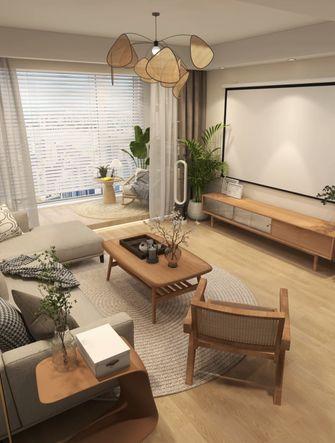 5-10万90平米日式风格客厅效果图