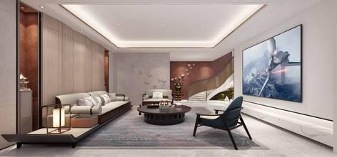 豪华型140平米别墅混搭风格影音室装修案例
