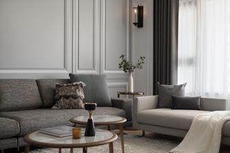 富裕型120平米四室一厅现代简约风格客厅装修案例