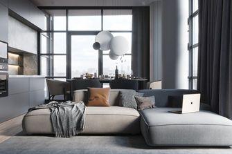 10-15万110平米三室一厅北欧风格客厅装修效果图