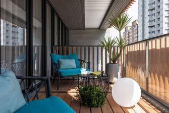 15-20万110平米公寓混搭风格阳台装修效果图