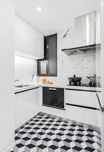 富裕型130平米三室两厅北欧风格厨房欣赏图