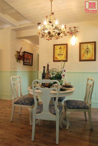 90平米田园风格餐厅装修案例