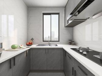 80平米三室两厅现代简约风格厨房装修效果图