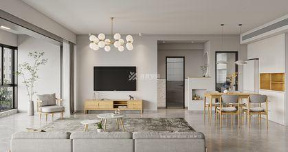 富裕型90平米三北欧风格客厅欣赏图