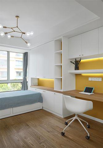 130平米四室一厅现代简约风格卧室图片