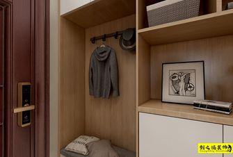 富裕型110平米三室两厅日式风格玄关装修案例