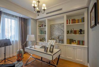 130平米四美式风格书房图
