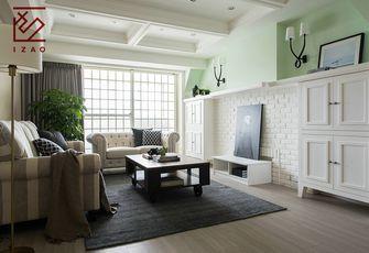 10-15万110平米三室两厅美式风格走廊欣赏图