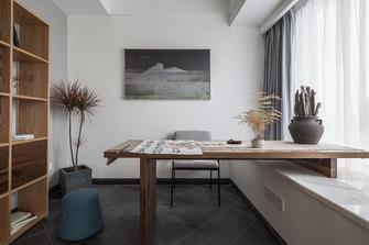 130平米三室两厅北欧风格书房欣赏图