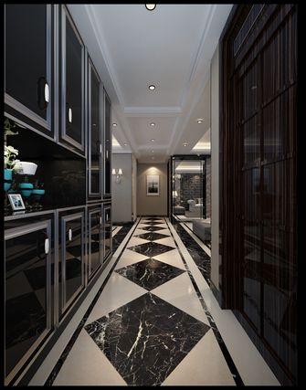 140平米三室一厅现代简约风格走廊图