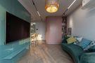 60平米公寓混搭风格客厅效果图
