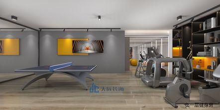 20万以上140平米别墅轻奢风格健身房装修案例