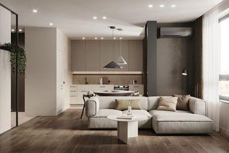 10-15万60平米一居室现代简约风格客厅设计图