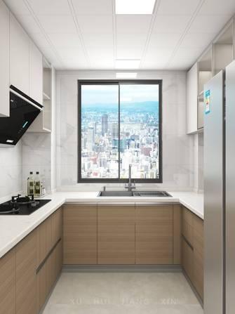 10-15万80平米欧式风格厨房设计图