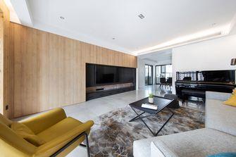 15-20万120平米三室两厅现代简约风格客厅设计图
