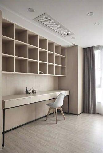 经济型100平米三室两厅新古典风格书房图片大全