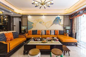 140平米四室一厅现代简约风格客厅装修效果图