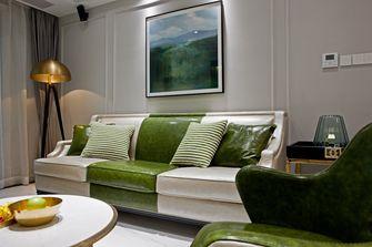 经济型110平米三室一厅港式风格客厅装修图片大全