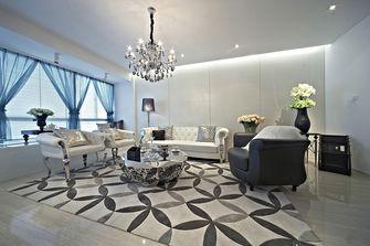 15-20万130平米三室两厅欧式风格客厅图片大全