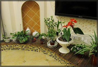 富裕型复式田园风格客厅装修效果图