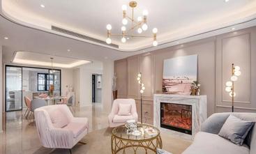10-15万120平米三室两厅法式风格客厅欣赏图