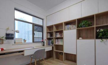 经济型120平米三北欧风格书房图片