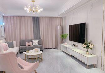 5-10万50平米公寓法式风格客厅设计图