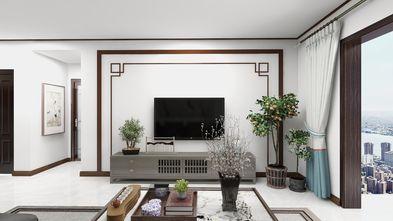 130平米三中式风格客厅图片大全