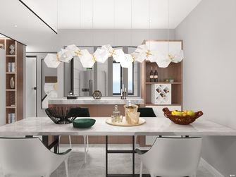 经济型50平米一室一厅轻奢风格餐厅图片大全