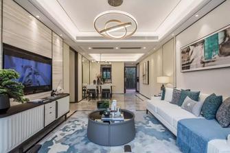3-5万90平米中式风格客厅装修案例