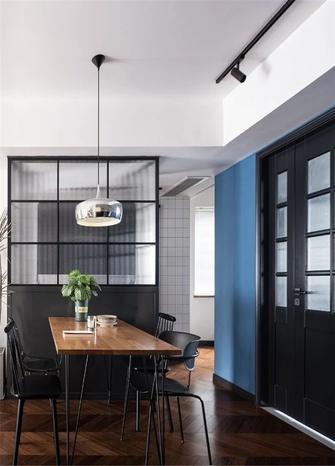 富裕型30平米以下超小户型现代简约风格餐厅装修图片大全