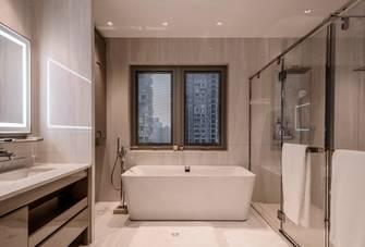 140平米四室三厅轻奢风格卫生间图片大全
