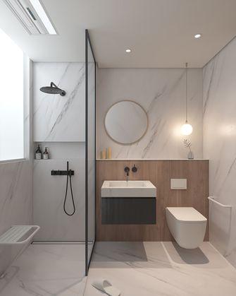 10-15万110平米三室三厅日式风格卫生间欣赏图