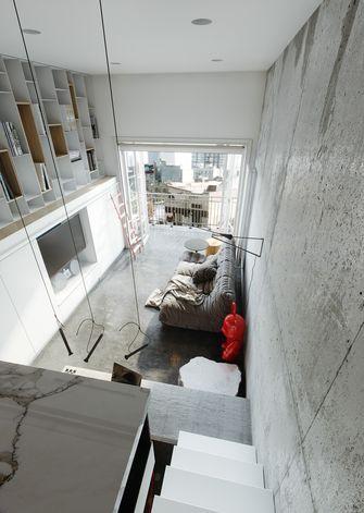 经济型30平米小户型工业风风格楼梯间图