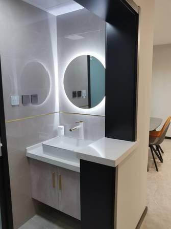 经济型100平米三室一厅轻奢风格卫生间效果图