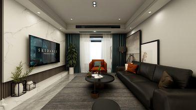 富裕型100平米四室两厅现代简约风格客厅效果图