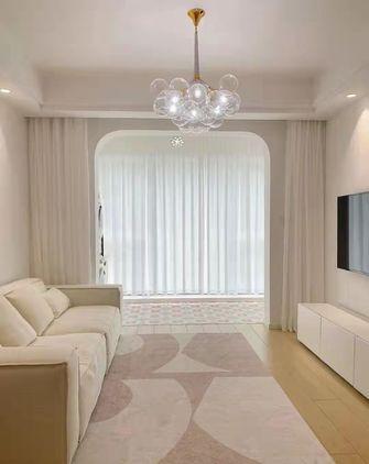 经济型50平米一室两厅现代简约风格客厅图片