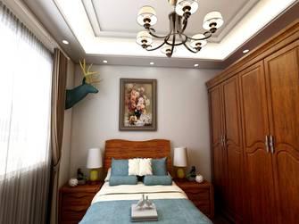 富裕型80平米三美式风格卧室图片大全