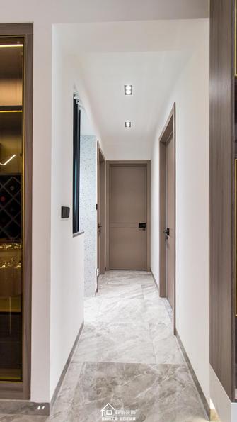 90平米三室一厅轻奢风格走廊欣赏图