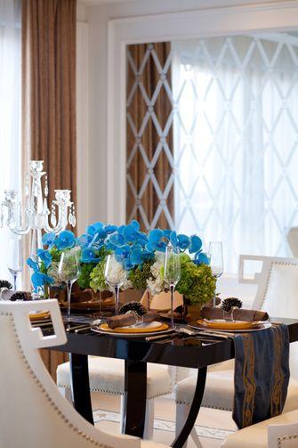 豪华型140平米四新古典风格餐厅图片
